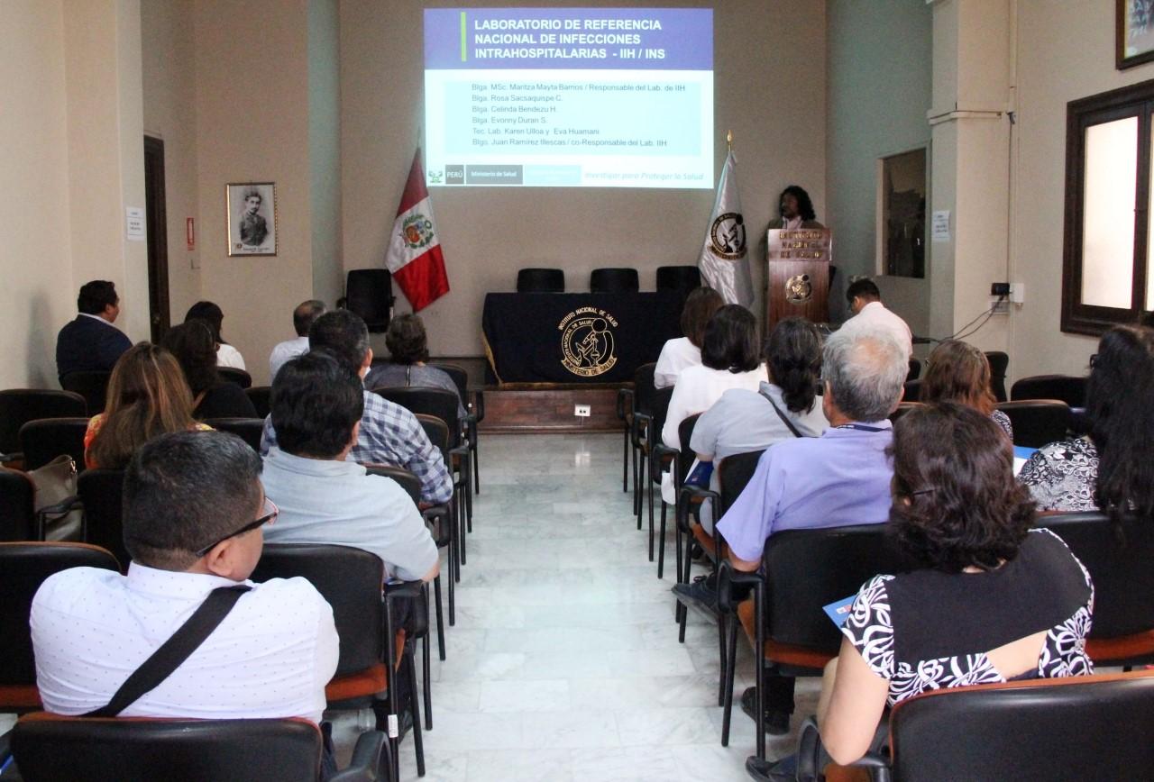 INS realiza reunión de coordinación sobre infecciones asociadas a la atención de la salud