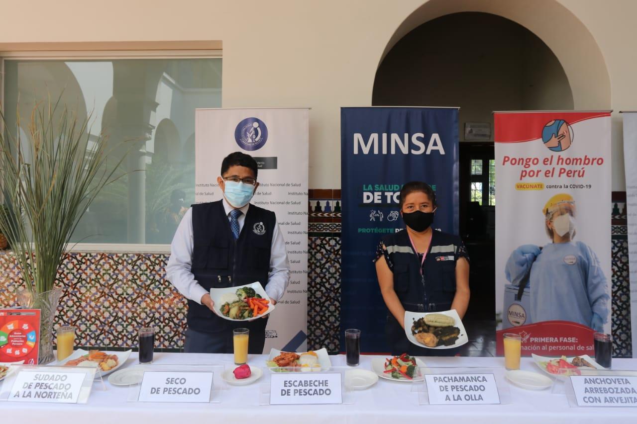 Nutricionistas recomiendan consumo de pescado de carne oscura en Semana Santa | INSTITUTO NACIONAL DE SALUD